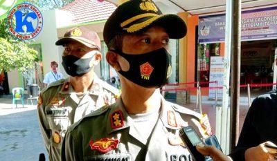 170 Personil Polisi Amankan Pendaftaran Bapaslon Bupati dan Wakil Bupati Bima