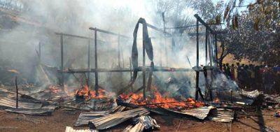 Seorang Warga Desa Hidirasa Ditemukan Tewas Terbakar