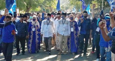 Pasangan Syafa'ad Resmi Mendaftar di KPU