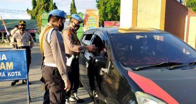 Razia Masker, 15 Polisi Melanggar Disiplin