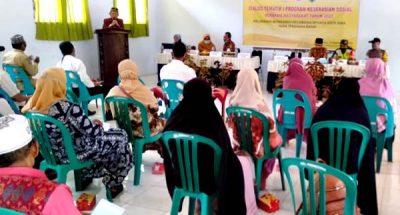 FKSBM Matakando Gelar Dialog Tematik Program Keserasian Sosial Berbasis Masyarakat