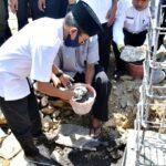 WaliKota Bima Letakan Batu Pertama Pembangunan Masjid At-Taqwa Panggi