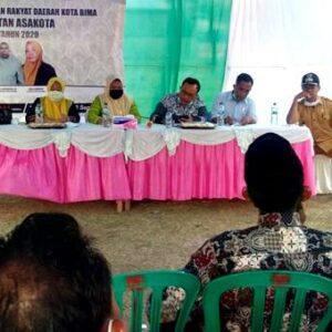 Dewan Dapil Asakota Jaring Asmara Warga Lingkungan Lewi
