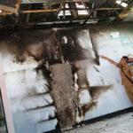 Perpustakaan SDN 40 Kota Bima Terbakar
