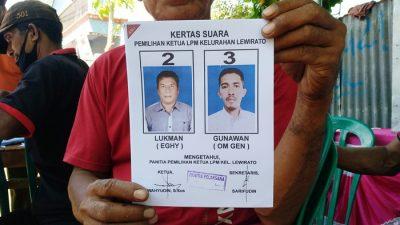 Kelurahan Lewirato Helat Pemilihan Ketua LPM
