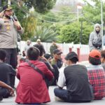 Kapolres Bima Kota Beri Arahan untuk Massa Aksi Agar tidak Anarkis