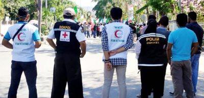 BSMI Kota Bima Siapkan Tim Medis di Lokasi Demonstrasi