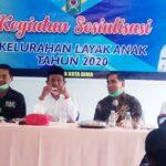 Percepatan Kota Layak Anak, DPPPA Kembali Sosialisasi Kelurahan layak Anak di Lampe