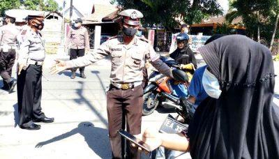 Hari Pertama Operasi Zebra Rinjani, Polres Dompu Jaring 108 Pelanggar