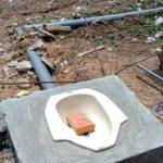 Pekerjaan Septic Tank Komunal di Dorebara Diduga Dikerjakan Asal-Asalan