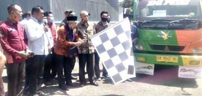 Launching Bansos KPM PKH, Bulog Bima Mulai Distribusi Beras