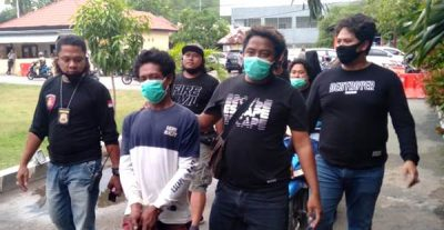 Tim Puma Polres Bima Kota Ringkus Penadah Motor Hasil Curian