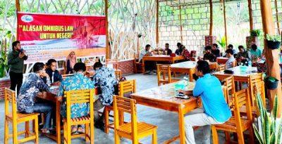 LBH Yustisia Helat Diskusi Alasan Omnibus Law untuk Negeri