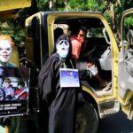 Operasi Zebra Rinjani, Sat Lantas Hadirkan Tokoh Cosplay Devil