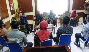 Kunjungi Bappeda, Wawali Bima Pompa Semangat Kerja Pegawai