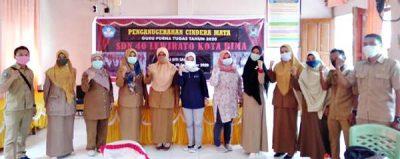 Pembinaan Model Sekolah Sehat, Dikes NTB Kunjungi SDN 40 Kota Bima