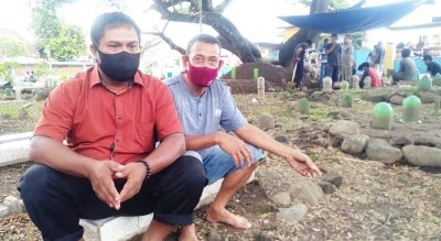 Pasien Covid-19 Meninggal, Warga Santi Desak Dikes Turun Semprot Disinfektan