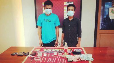 2 Pemuda Terduga Pengedar Sabu-Sabu dan Ganja Diciduk