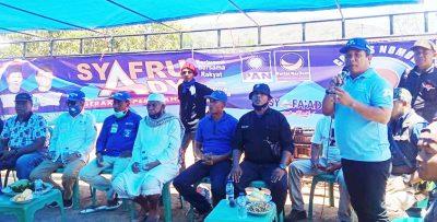 Kampanye di Sape, Ketua PAN: Jawaban untuk Kemajuan Daerah itu Ganti Bupati Bima