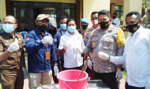 Polres Bima Kota Musnahkan Sabu-Sabu 29,70 Gram