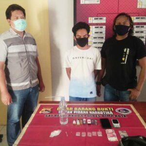 Tim Opsnal Ringkus Pemilik Sabu-Sabu di Lingkungan Lewi Jambu