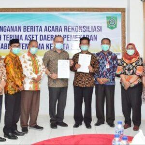 KPK Rekonsiliasi 426 Aset Pemekaran dari Kabupaten Bima ke Kota Bima