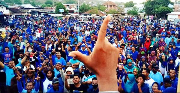 Kekecewaan Masyarakat Permanen, Kondisi Pemilih di Woha Konsisten untuk Syafru-Ady