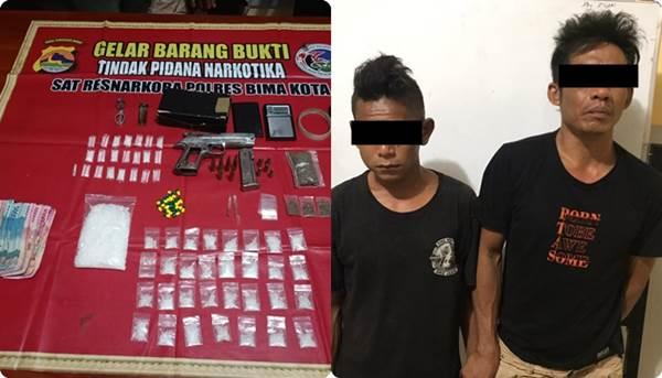Lawan Petugas Saat Ditangkap, Bandar Sabu-Sabu Ditembak