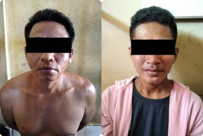 Maling di Gudang Sumber Mas, 2 Pemuda Ditangkap