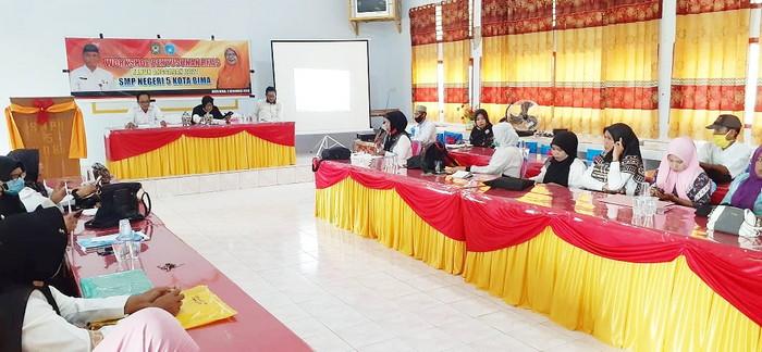 Agar Program Pendidikan Tahun 2021 Berjalan Baik, SMPN 5 Gelar Workshop RKAS