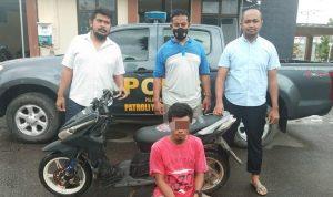 3 Tahun Buron, DPO Curanmor Ditangkap Polsek Rasbar