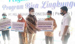 Pelindo III Bima Salurkan Bantuan Program Bina Lingkungan