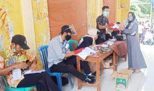 Warga Kecamatan Soromandi Berikan Hak Pilih Pada Pilkada Bima 2020