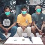 Tim Puma Amankan 3 Warga Pemilik Senjata Api Rakitan
