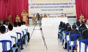Walikota Bima Serahkan SK CPNS Formasi Tahun 2019