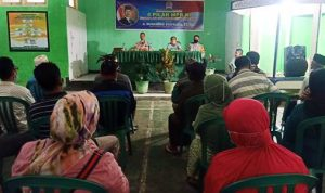 HM Syafruddin Sosialisasi 4 Pilar Kebangsaan di Kelurahan Rabangodu Selatan