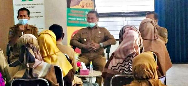 Kinerja Aparatur di DPMPTSP Kota Bima Dipuji Wakil Walikota