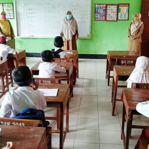 Sekolah Tatap Muka, SDN 24 Disiplin Terapkan Prokes Covid-19
