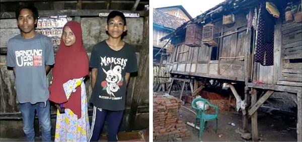 Hidup di Rumah Reot, 3 Anak Yatim Piatu Ini Luput Perhatian Pemerintah