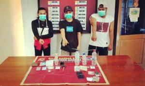 Ungkap Peredaran Narkoba di Kelurahan Nae, 3 Pemuda Diringkus