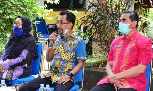 Kunjungi Bappeda, Lutfi: Kunci keberhasilan Pembangunan Terletak pada Perencanaan