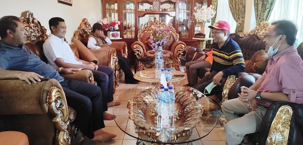 Pertemuan Hangat Gubernur NTB dan Wawali Bima Bersama HM Qurais