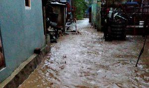 Langganan Banjir, Hari ini Ratusan Rumah di Kelurahan Paruga Terendam