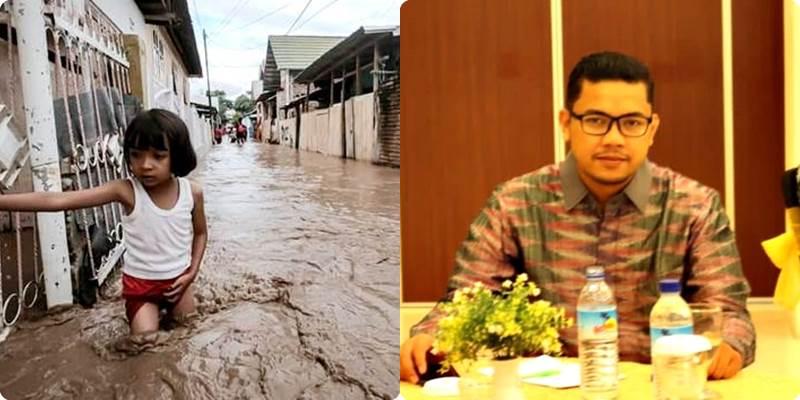 Pernyataan Bukan Banjir di Paruga Menyakiti Hati Warga