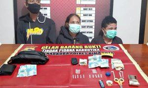 Ungkap Peredaran Narkoba di Tanjung dan Paruga, 2 Wanita dan Seorang Pria Diamankan