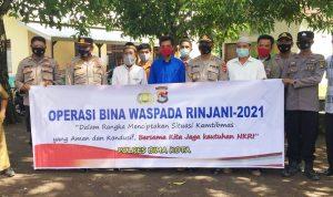 Operasi Bina Waspada Rinjani, Polres Bima Kota Datangi Pesantren Darul Hikmah