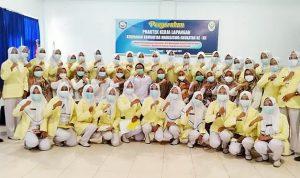 Wujudkan Persalinan Aman, Mahasiswa Akbid Harapan Bunda PKL Kebidanan Komunitas di 6 Puskesmas