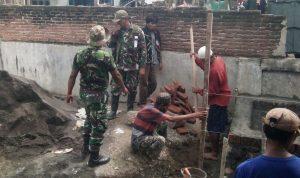 Jelang TMMD, Kodim 1608 Bima Rehab Masjid dan Perbaiki Fasilitas Umum di Kecamatan Monta