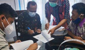 DPK Kota Bima dan PT Kirelis Teken Kontrak Bangun Kantor Baru