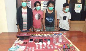 Ungkap Peredaran Narkoba di Sape, 4 Warga Ditangkap